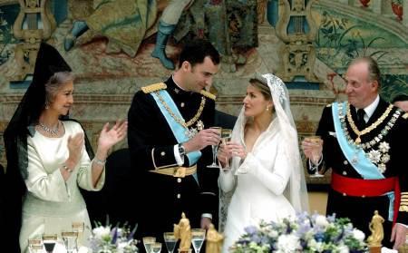 Los príncipes de Asturias ganan 12.000 euros en la Lotería